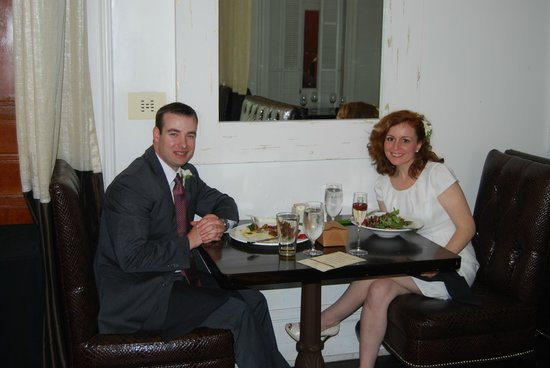 Enjoying brunch at 700 Drayton Restaurant