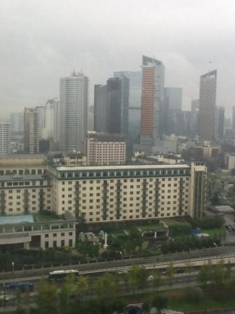Galaxy Minyoun Chengdu Hotel : view from window