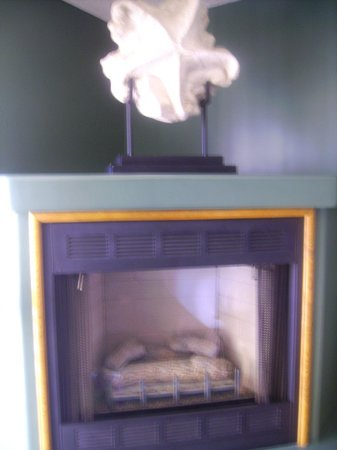 SeaVenture Beach Hotel : Fireplace
