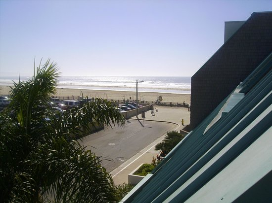 SeaVenture Beach Hotel : From balcony view/ 3rd floor