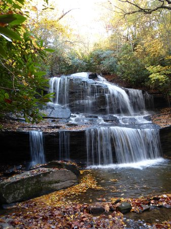 Miller's Land of Waterfall Tours: Waterfall on Private Land