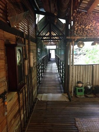 The Kebun: hallway to the longhouse