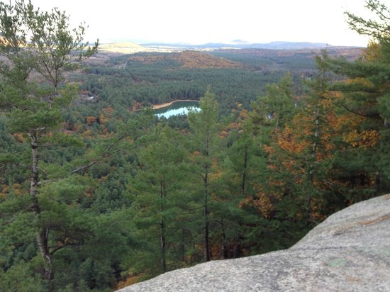 Buttonwood Inn on Mount Surprise: Fabulous views from a local trail