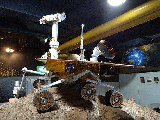 Kakamigahara Aerospace Science Museum: robô usado para pegar amostras do solo da lua