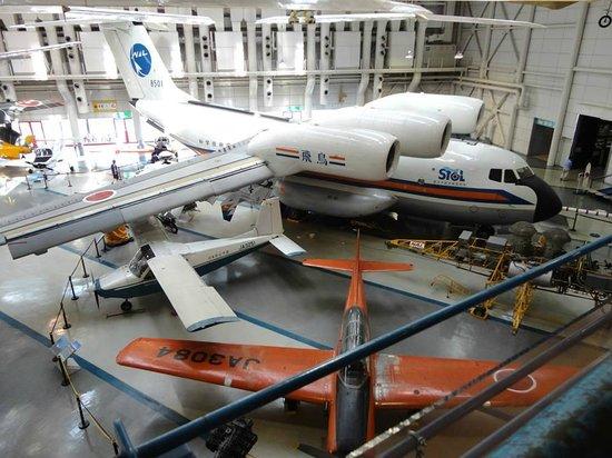 Kakamigahara Aerospace Science Museum: Avião em exposição