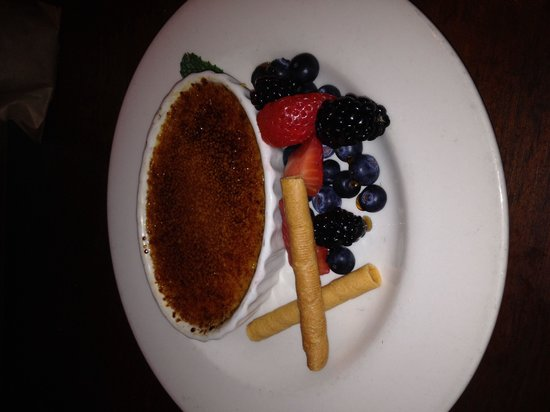 The Brooklyn Seafood Steak & Oyster House : Creme Brûlée
