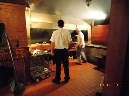 Pivnica Dubrava: Oven cooking