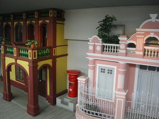 Macao Museum: マカオの歴史的建物のレプリカ