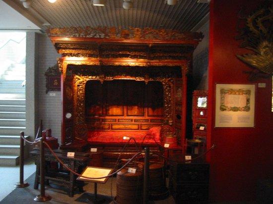 Macao Museum: 洒落た寝室