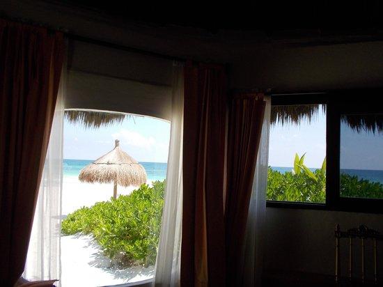La Zebra Colibri Boutique Hotel: View from the cabana