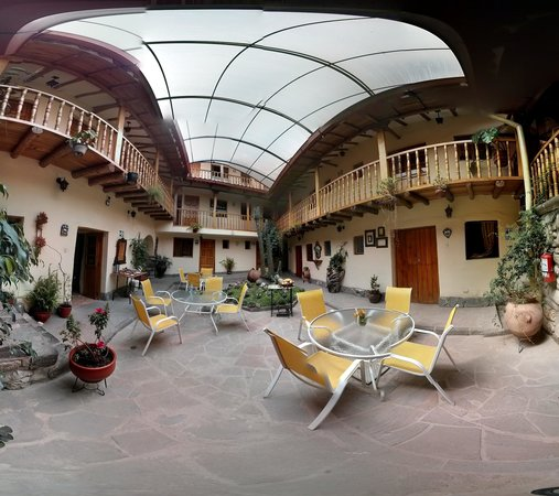 Apu Huascaran Hostal: photo sphere.  Apu Huascaran