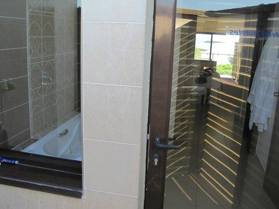 Melia Buenavista: vue de la douche au balcon face mer