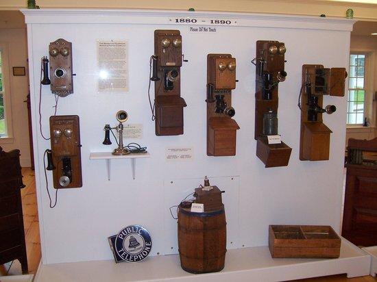 New Hampshire Telephone Museum: Some phones