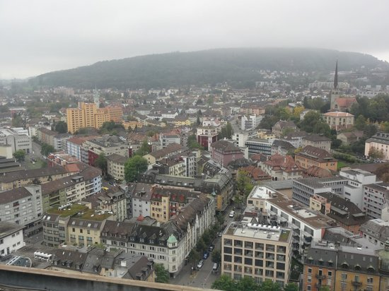 Swissotel Zurich: View from room