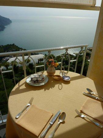 Belmond Hotel Caruso : Breakfast area