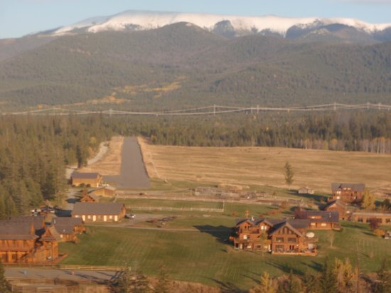 Echo Valley Ranch & Spa: Aerial View