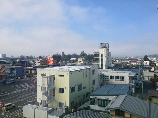 Hotel Benex Yonezawa: View from 5th floor room.