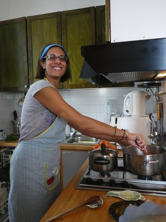 Bed and Breakfast La Concordia: Silvanah, my cooking instructor