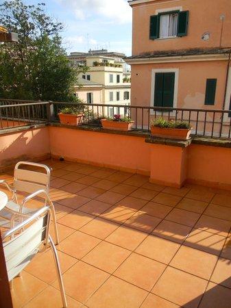 Hotel Ducale : La terrasse