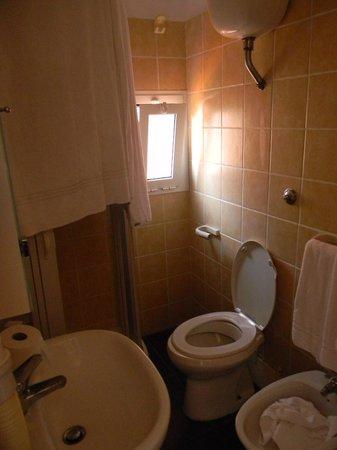 Hotel Ducale : La salle de bains