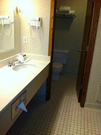 Heidel House Resort & Spa : Large bathroom vanity