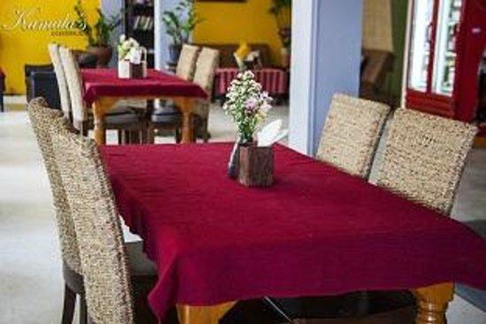 Kamala's Guesthouse: Restaurant