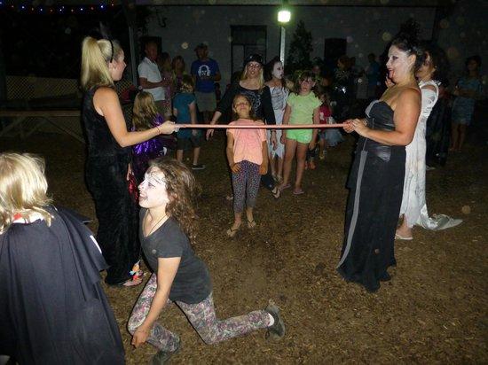 Mowbray Park Farmstay Holidays: limbo halloween style