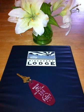 Discovery Lodge: Hotel rom key