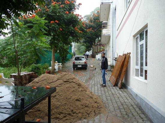 Clifton Inn : driveway
