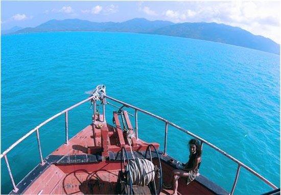 Samui Evasion : Bateau de croisière - Tour de Samui par la Mer