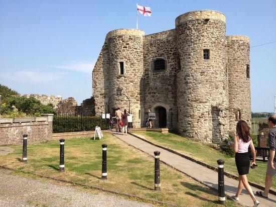 Rye Castle Museum: Outside view