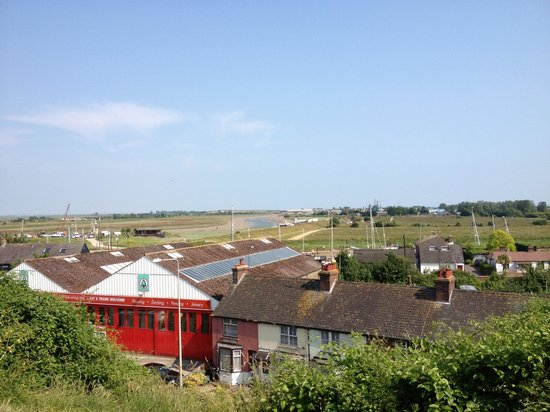 Rye Castle Museum: View from tower