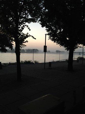Hyatt Regency Mainz : Отличный вид на реку из ресторана и номеров
