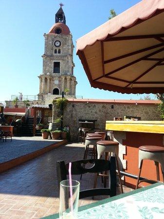 Roloi Clock Tower : Vue de la terrasse de l'horloge