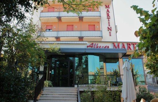 Albergo Martini: L'ingresso dell'hotel