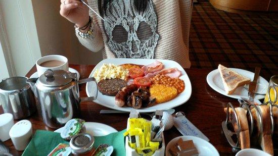 Powfoot Golf Hotel: Proper Scottish breakfast!!