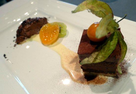 Le Val D'Hebron: Le Val d'Hébron Chocolate Dessert