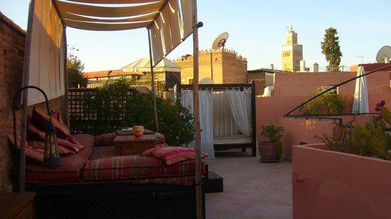 Riad Al Rimal: El relax por la tarde