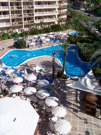 Hotel-Aparthotel Dorada Palace : Piscine