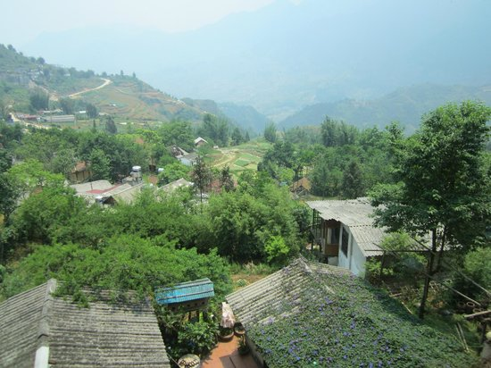 View from Natureview Restaurant, Sapa