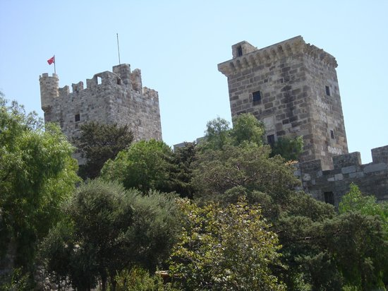 монетки - Picture of Castle of St. Peter, Bodrum City ...