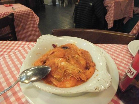 Lorenzo Trattoria: Gamberoni al Pomodoro