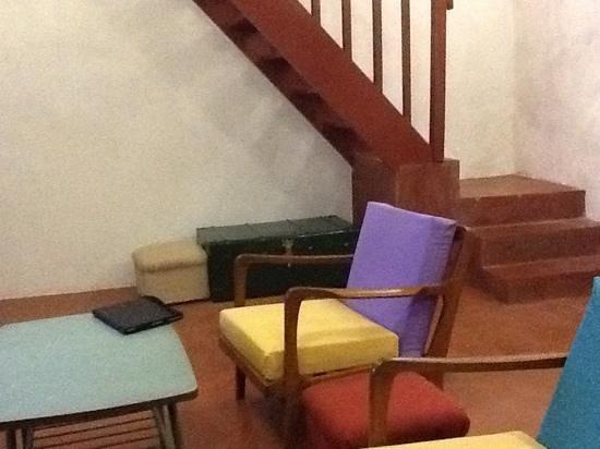 The Bridge Loft: sitting area