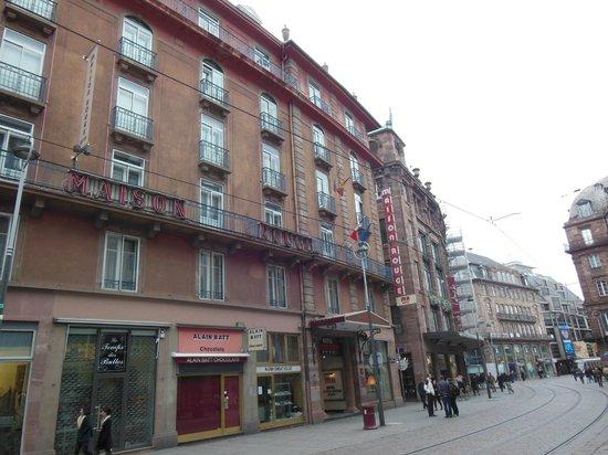 Maison Rouge Hotel : hotel maison rouge