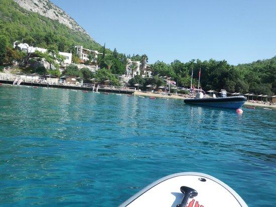 Hapimag Resort Sea Garden: From the water.