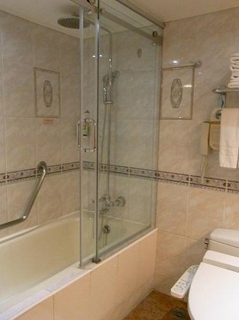 Cosmos Hotel Taipei : shower room1