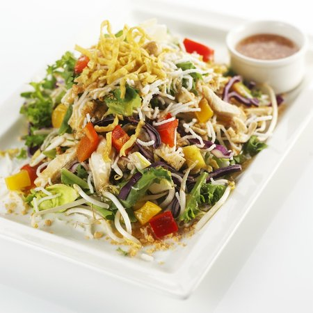 salade asiatique au poulet grill picture of le wok nantes tripadvisor. Black Bedroom Furniture Sets. Home Design Ideas
