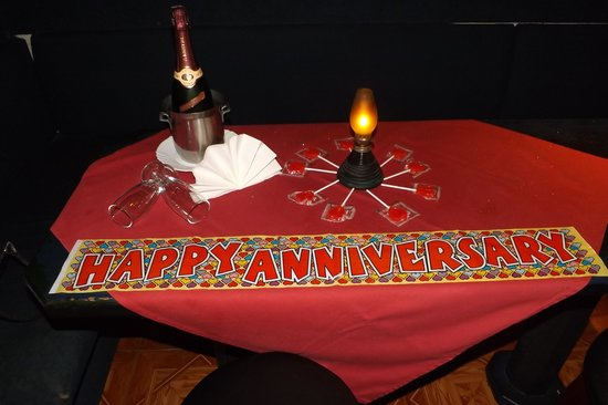 The Red Cow Restaurant & Sports Lounge : they did this for our wedding annviersay