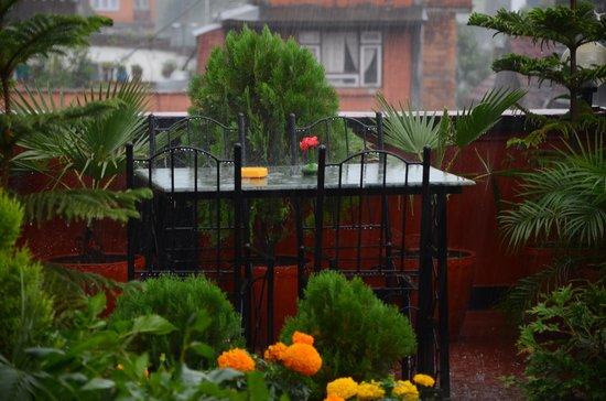 Hotel Kathmandu Terrace: terrace