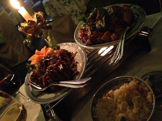 Fook Moon : poulet au basilic & porc